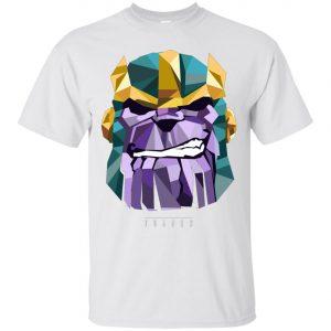 Marvel Thanos Low Poly Geometric Art Head Men's T-Shirt