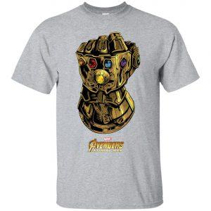 Marvel Avengers Infinity War Gauntlet Gems Men's T-Shirt