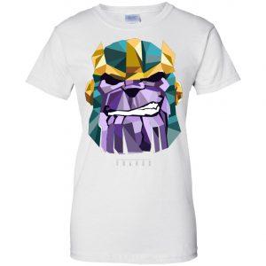 Marvel Thanos Low Poly Geometric Art Head Women's T-Shirt