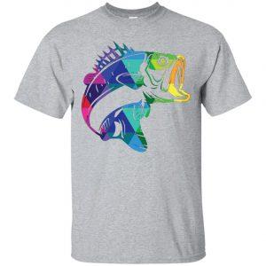 Fishing for Bass Fisherman Fishing Gifts Men's T-Shirt