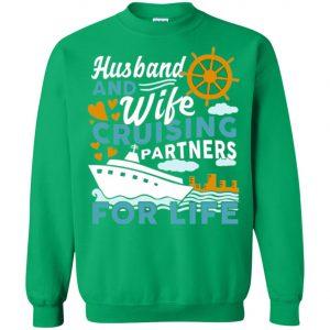 Husband And Wife Cruising Partner For Life Sweatshirt Amazon Best Seller