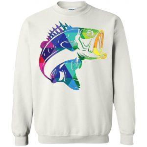 Fishing for Bass Fisherman Fishing Gifts Sweatshirt