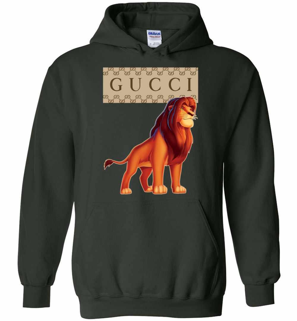 79f68f07 Gucci Lion King Hoodies