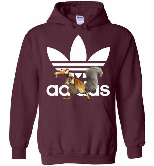 Adidas Ice Age Scrat Hoodies Amazon Best Seller