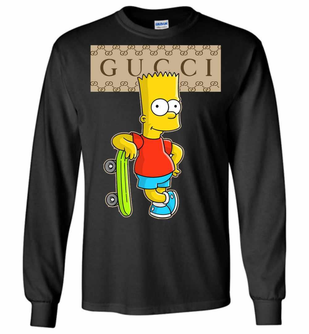 e80afc955 Gucci Bart Simpson Long Sleeve T Shirt Amazon Best Seller