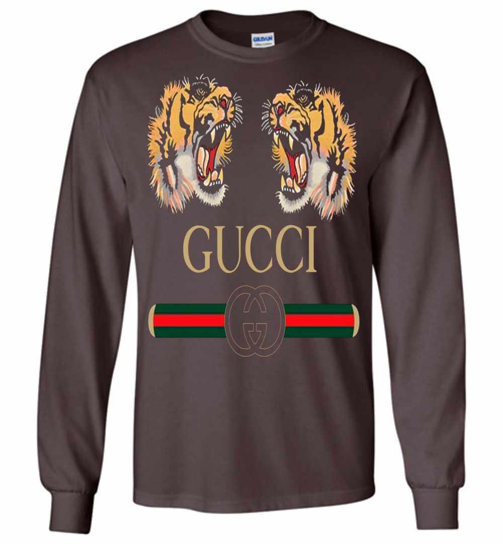 b201a931 Gucci Zodiac The Lion Long Sleeve T Shirt Amazon Best Seller