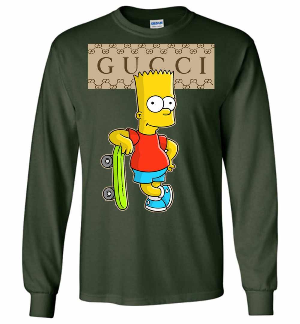 79c1923f Gucci Bart Simpson Long Sleeve T Shirt Amazon Best Seller