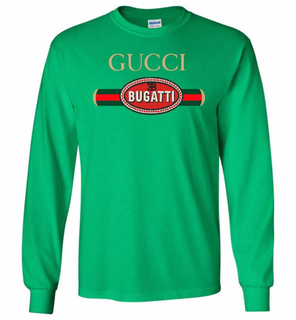 dafa54a5211 Gucci Bugatti Collection Long Sleeve T Shirt Amazon Best Seller