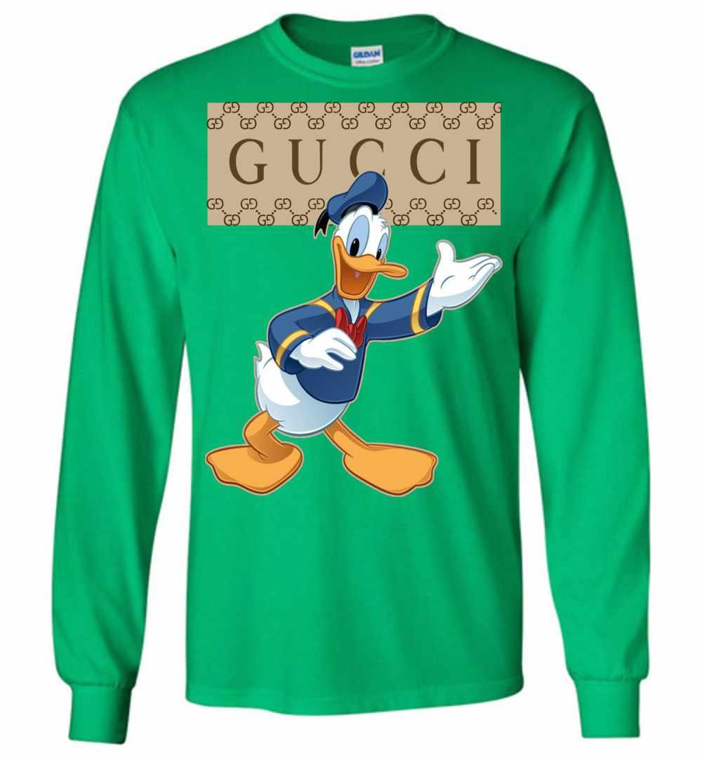 c9e1404e760b Gucci Donald Duck Long Sleeve T Shirt Amazon Best Seller