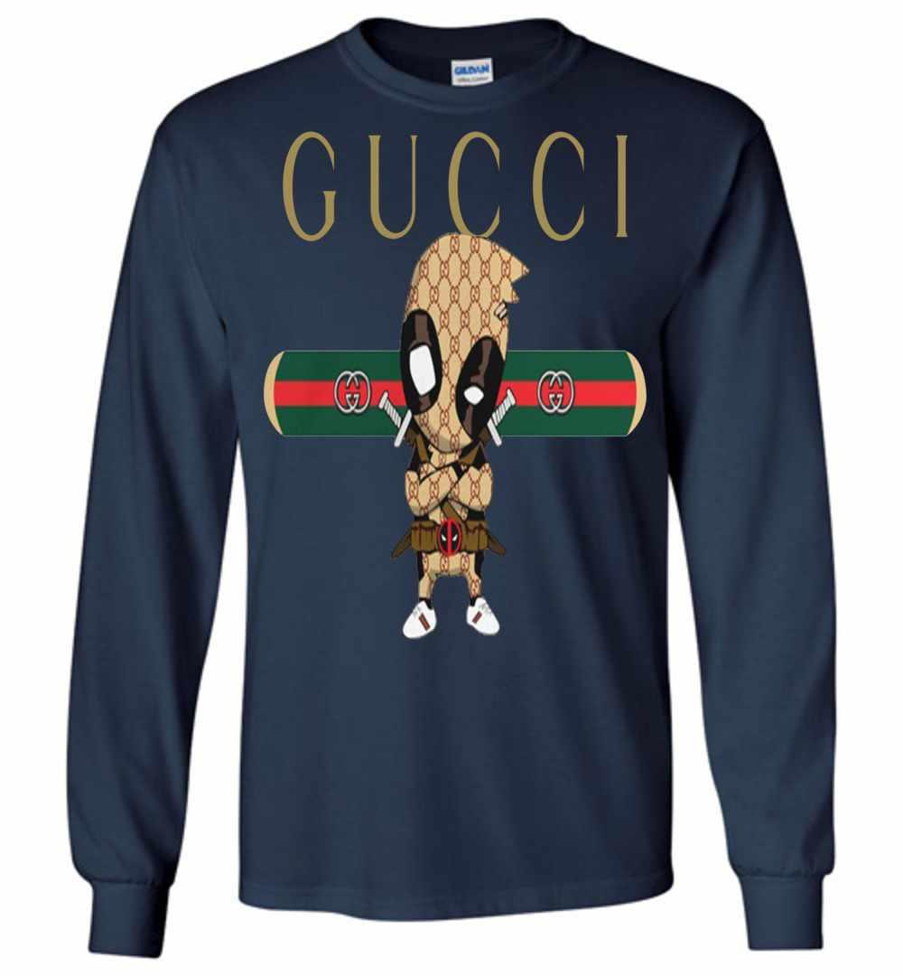 9d179171165 Official GUCCI DEADPOOL Long Sleeve T Shirt Amazon Best Seller
