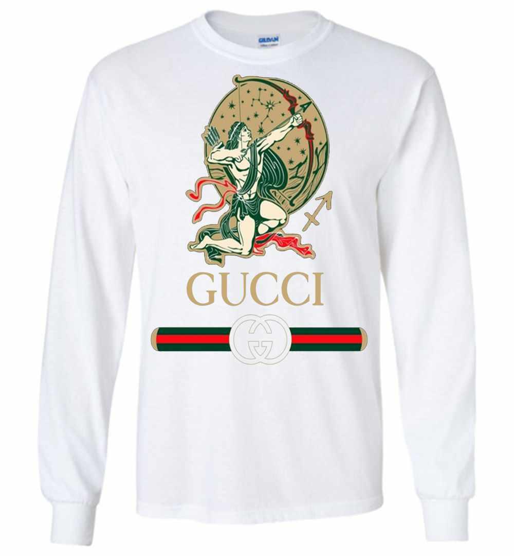 f4d78cb17c8 Gucci Zodiac The Sagittarius Long Sleeve T Shirt Amazon Best Seller