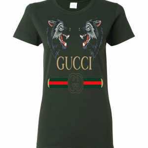 8ddc4dcc8 Gucci Zodiac The Wolves Women's T Shirt Amazon Best Seller