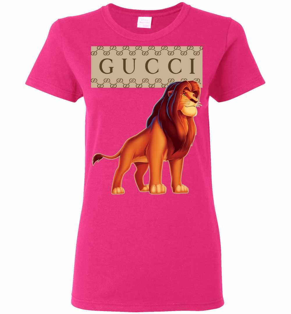 39b0b3d7d00 Gucci Lion King Women s T Shirt Amazon Best Seller