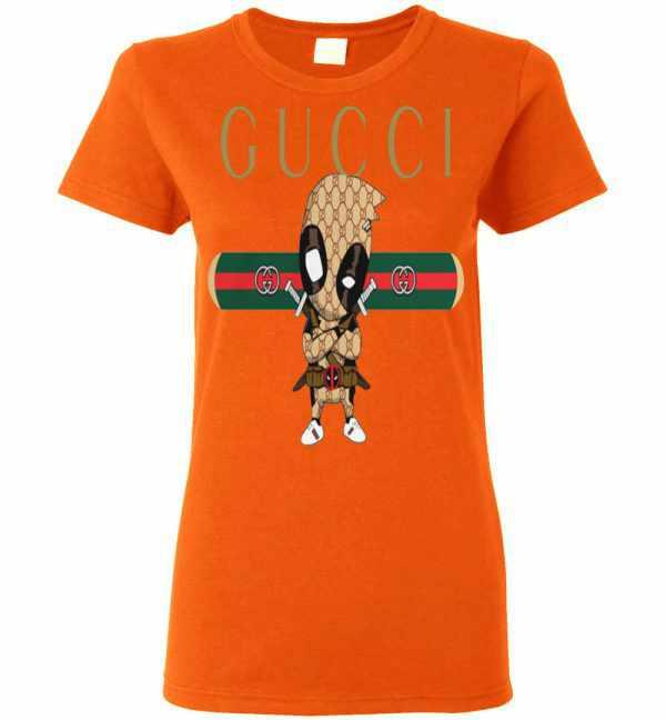 Official GUCCI DEADPOOL Women's T Shirt Amazon Best Seller