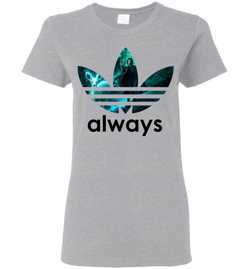 a42bd818a Popfunk Harry Potter Professor Snape Always T Shirt & Stickers Small Black  Source · Adidas Always Harry Potter Women s T Shirt
