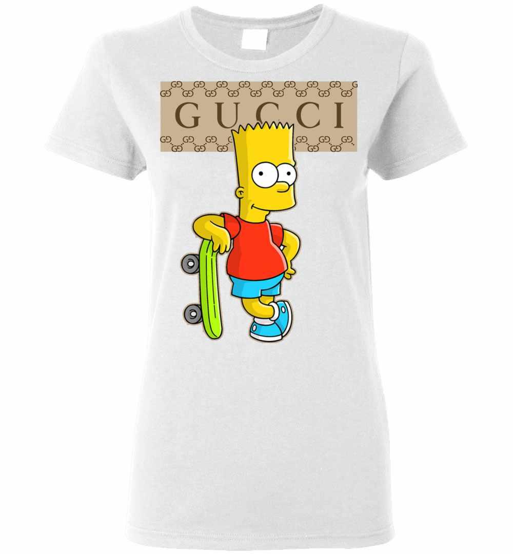 Gucci Bart Simpson Women S T Shirt