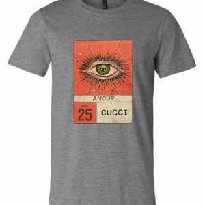 2220adfab0d Gucci Amour Eye Premium T shirt Amazon Best Seller