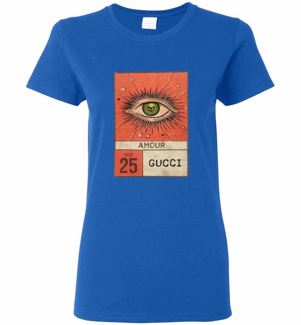 3b5c8f28b Gucci Amour Eye Women's T Shirt Amazon Best Seller