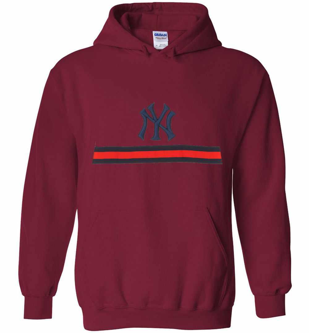 size 40 09992 61038 Gucci NY Yankees Hoodies