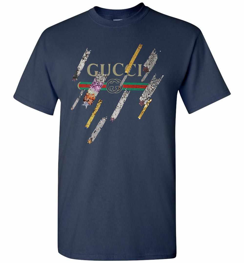64c8eb43713 Gucci Logo And Shooting Stars Men s T Shirt Amazon Best Seller