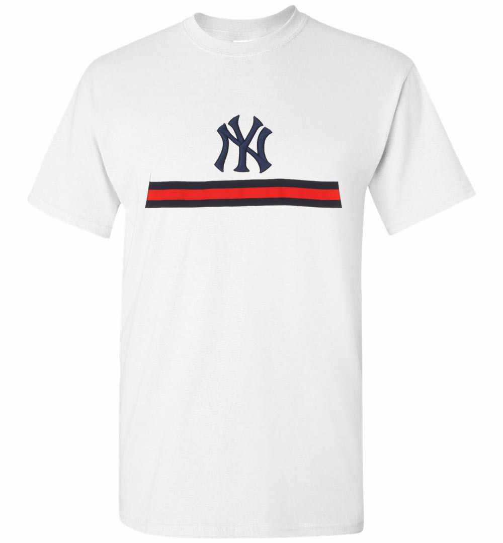 818bfe040 Gucci NY Yankees Men's T Shirt Amazon Best Seller