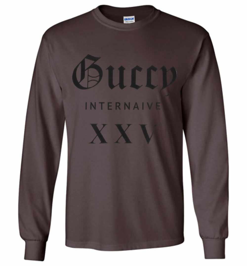 fe306404 Guccy Internaive XXV Long Sleeve T Shirt Amazon Best Seller