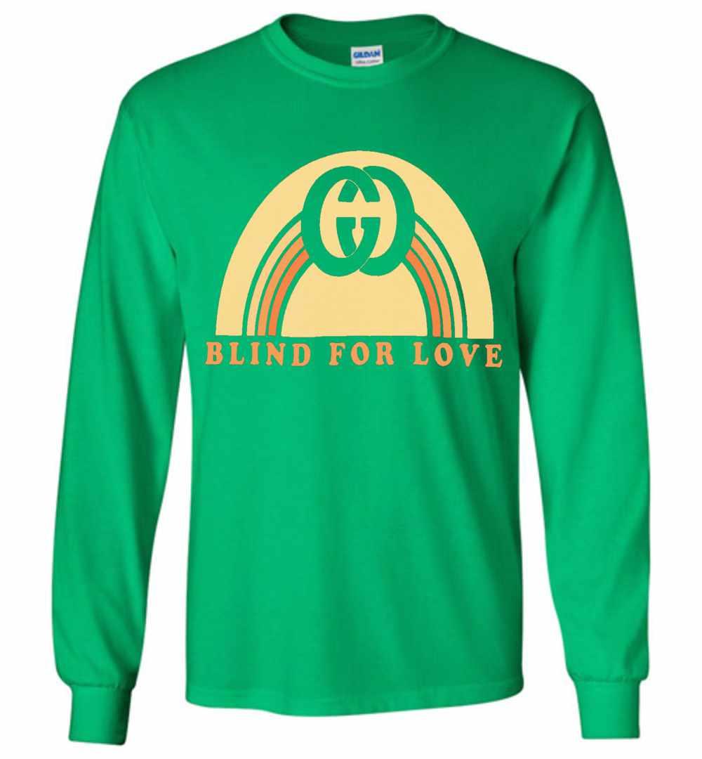 4745b3ff746 Gucci Rainbow Bind For Love Long Sleeve T Shirt Amazon Best Seller