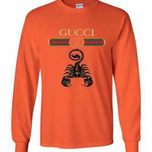 995f1a4de Zodiac Gucci Scorpio Birthday Gift Long Sleeve T Shirt Amazon Best Seller