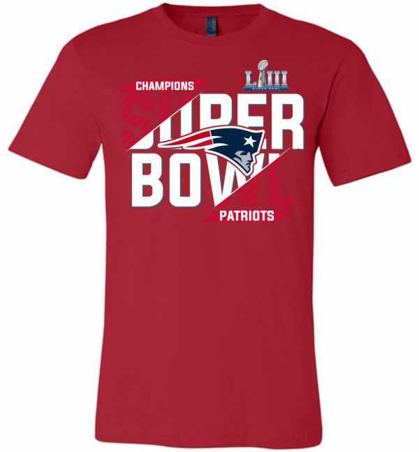 New England Patriots Champions Super Bowl Liii 2019 Premium T shirt Amazon Best Seller