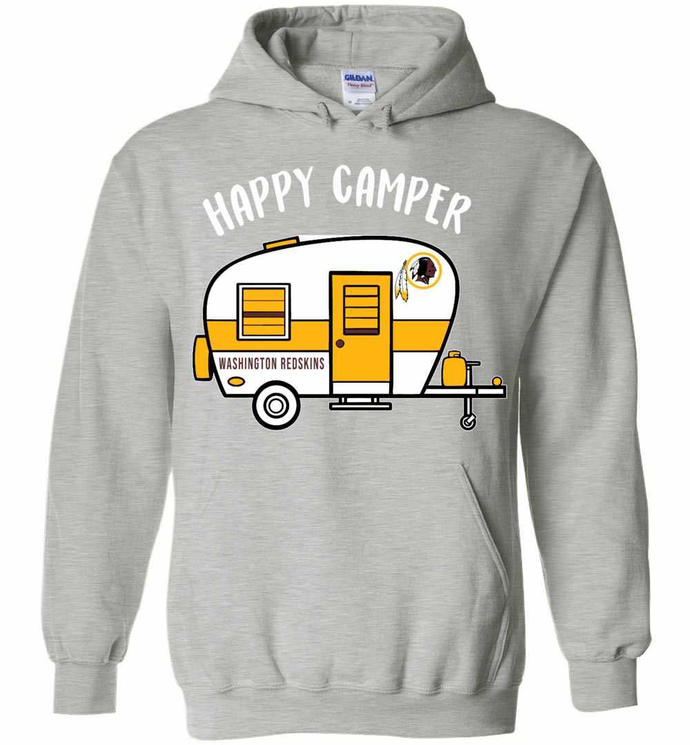half off 94e90 d722b Washington Redskins Happy Camper Hoodies