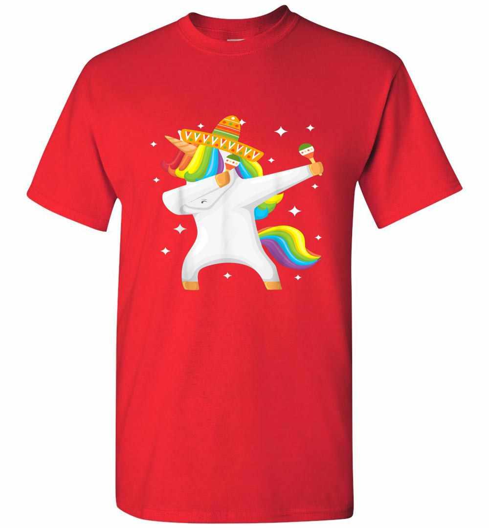 Unicorn Dabbing Cinco De Mayo Men's T shirt Amazon Best Seller
