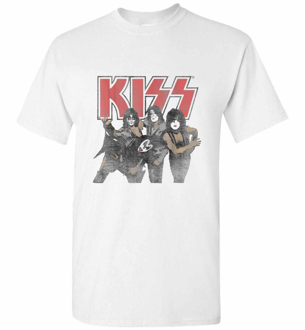 Kiss Shout It Out Loud Portrait Men's T shirt Amazon Best Seller