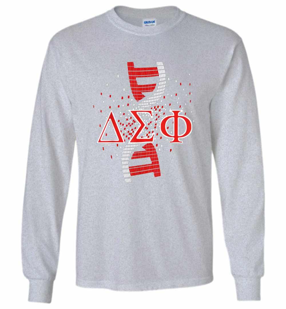 Delta Dst Sigma Sorority Theta Dna Paraphernalia Long Sleeve T-shirt