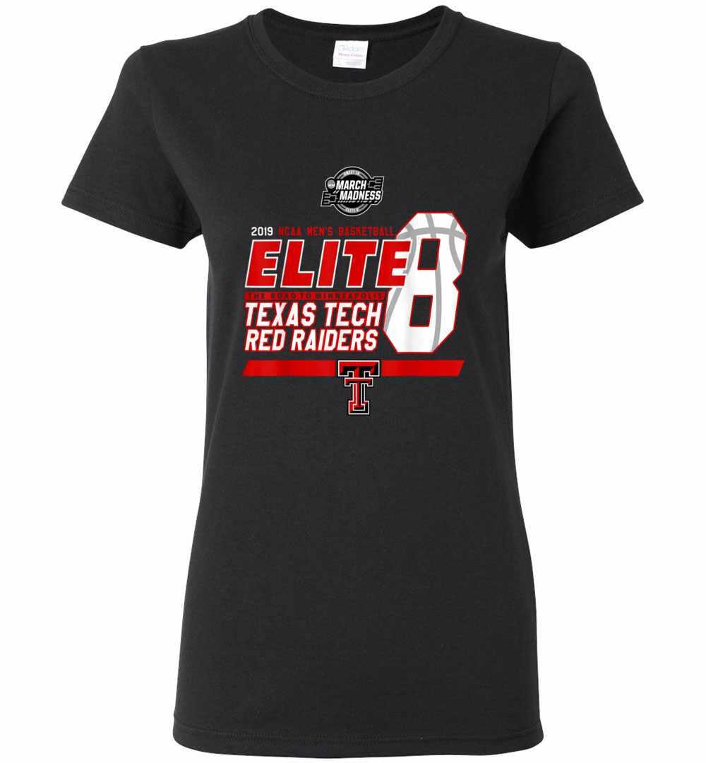 cf7640d8 Texas Tech Elite 8 Women's T-shirt
