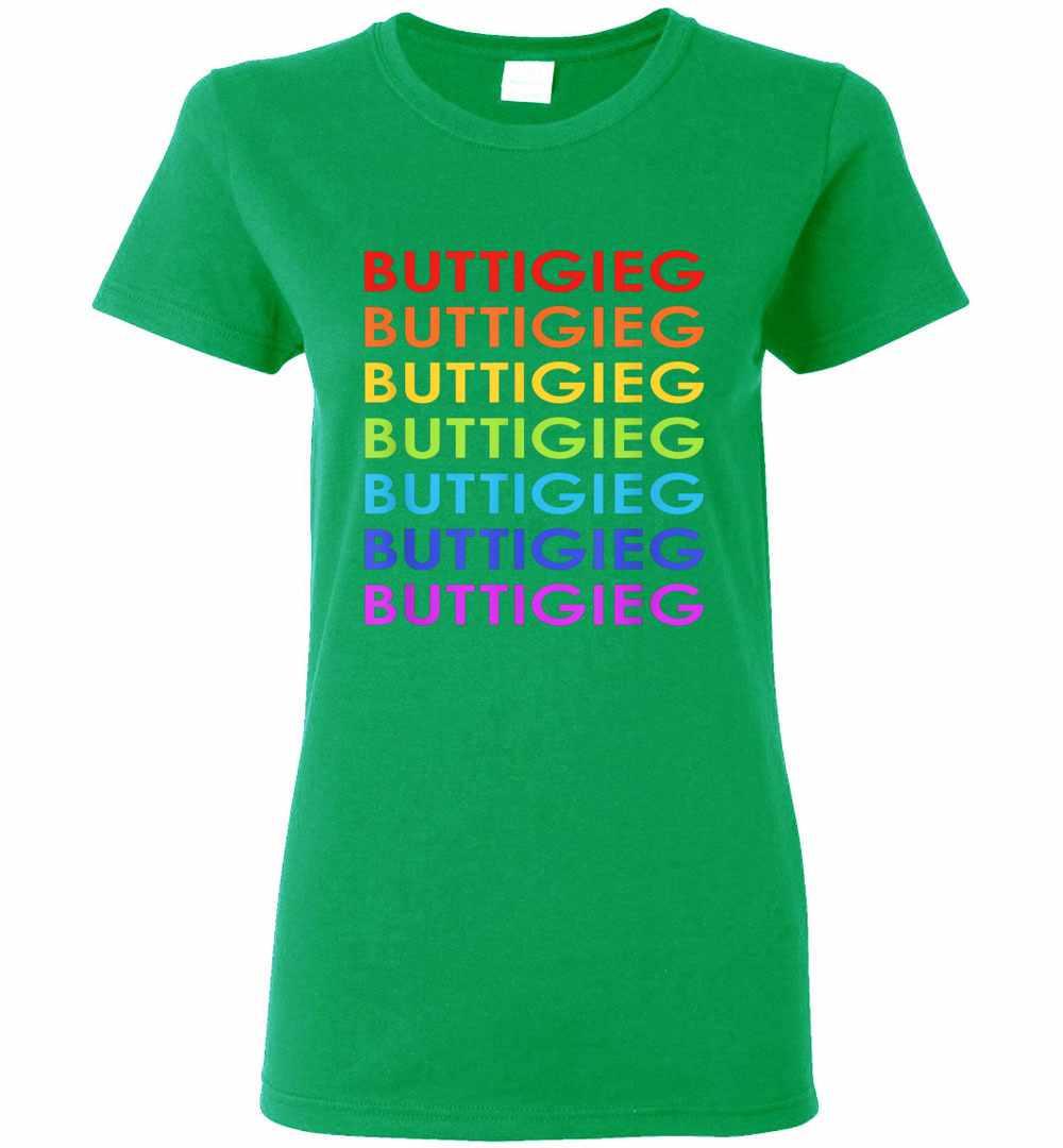 Pete Buttigieg 2020 Lgbt Rainbow Women's T shirt Amazon Best Seller