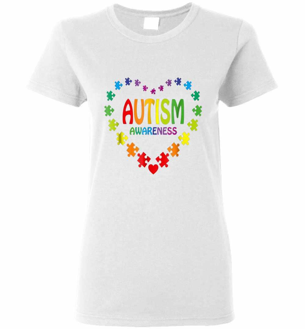 e721f6438 World Autism Awareness 2 April 2019 Autism Cute Women's T-shirt
