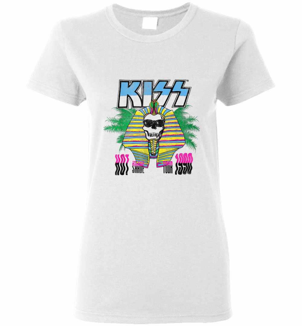 Kiss Hot In The Shade Tour Women's T shirt Amazon Best Seller