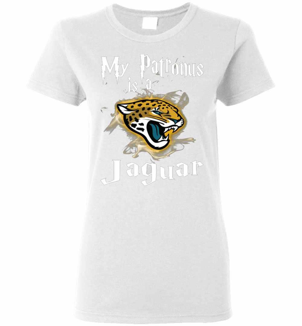 new styles 8f5a0 ae273 My Patronus Is A Jacksonville Jaguars Harry Potter Women's T-shirt