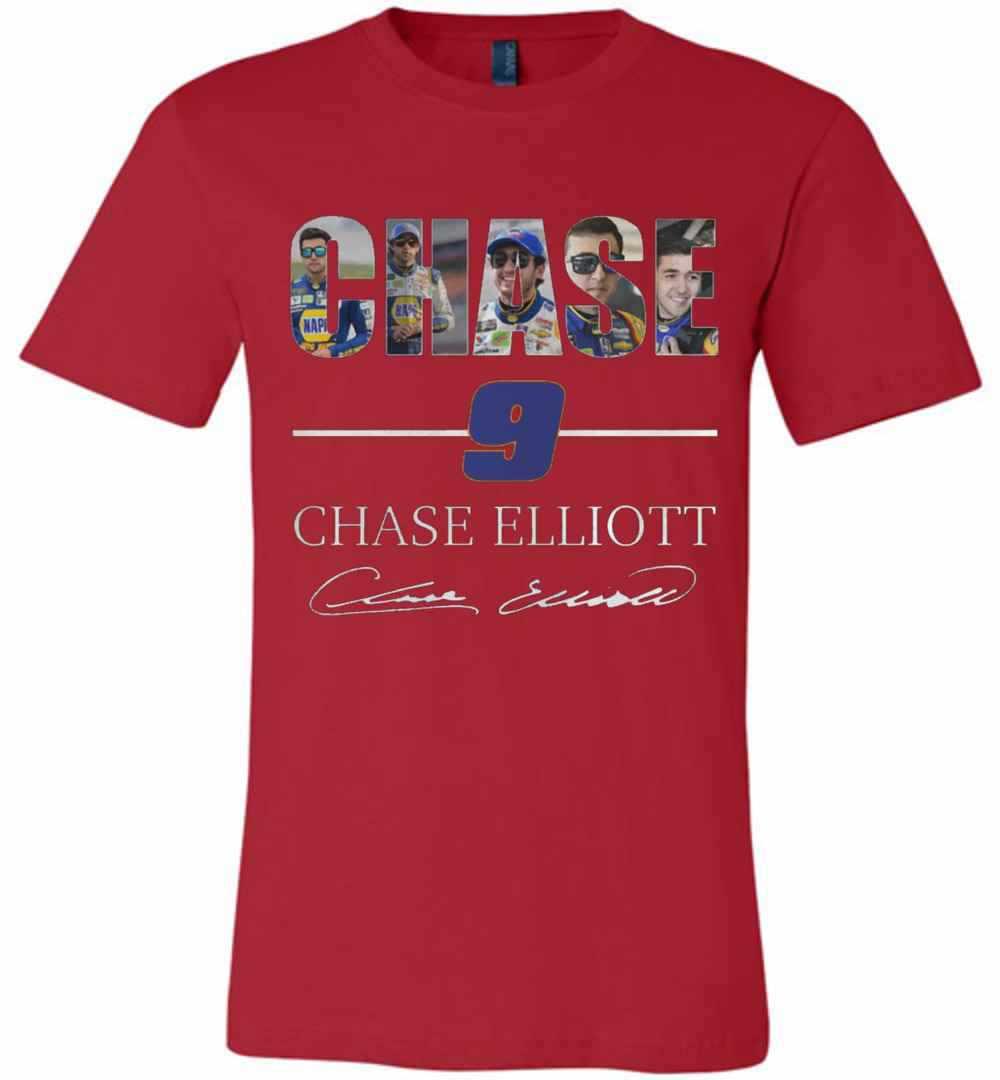 Chase Elliott T Shirt >> Chase Elliott 9 Premium T Shirt