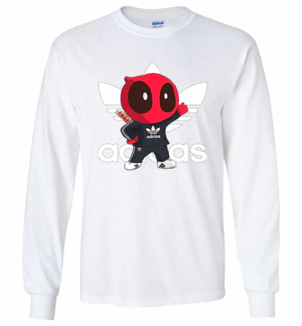 T Adidas Sleeve Long Fan Deadpool Shirt Baby 2eWIYEDH9