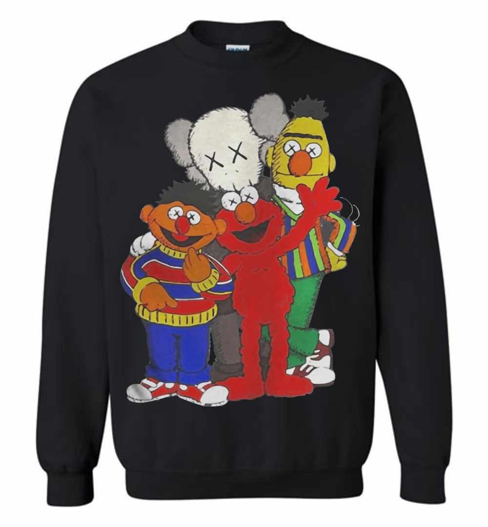 f1ff973e0bc71 Kaws X Sesame Street Family Sweatshirt