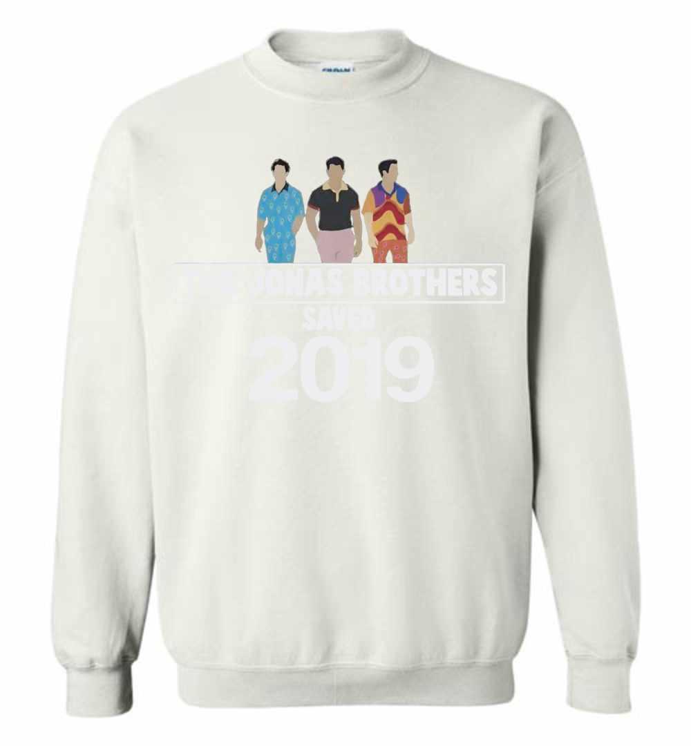 ec86021b5 The Jonas Brothers Saved 2019 Sweatshirt