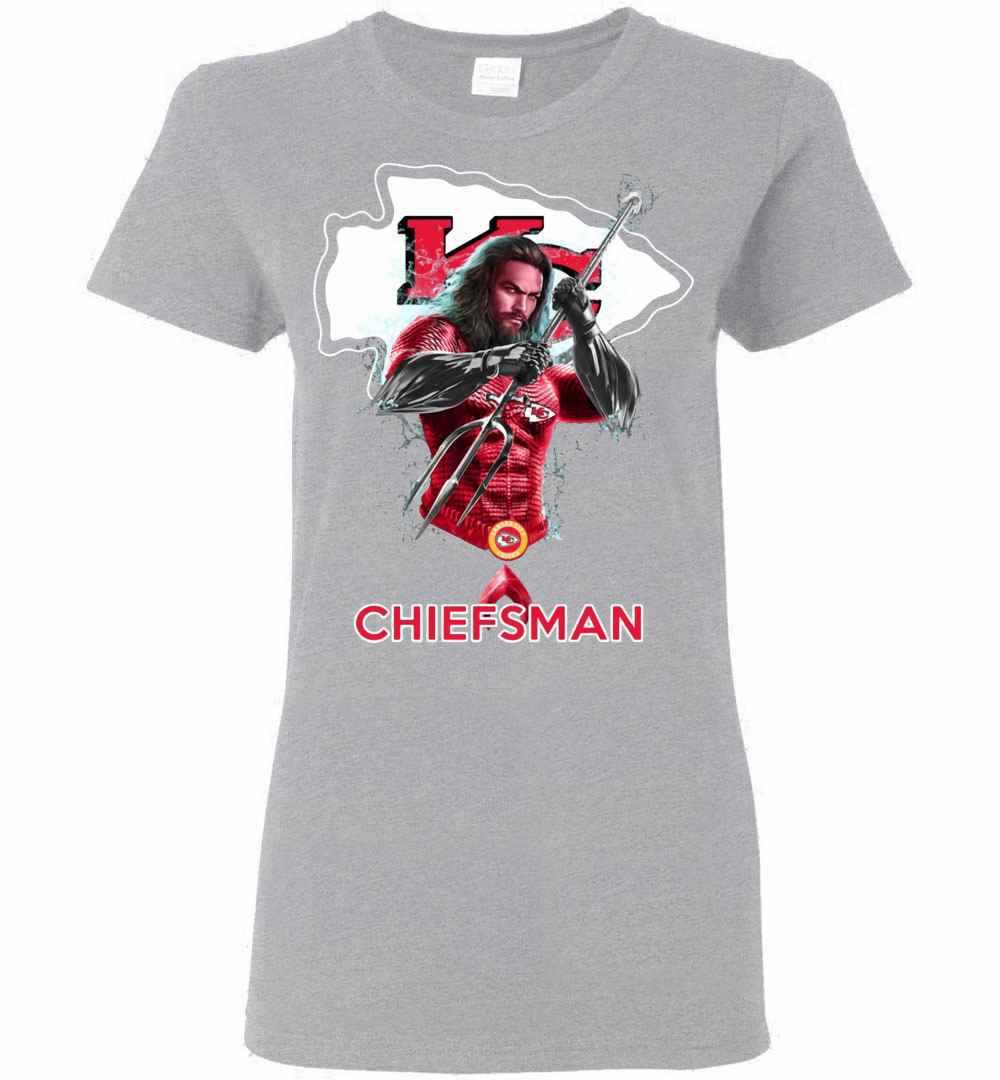 finest selection 2fca6 dd7d6 Aquaman Kansas City Chiefs Chieft Man Women's T-shirt