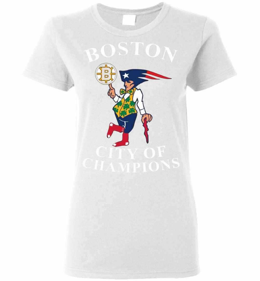 Boston City Of Champion Sweater Women's T-shirt